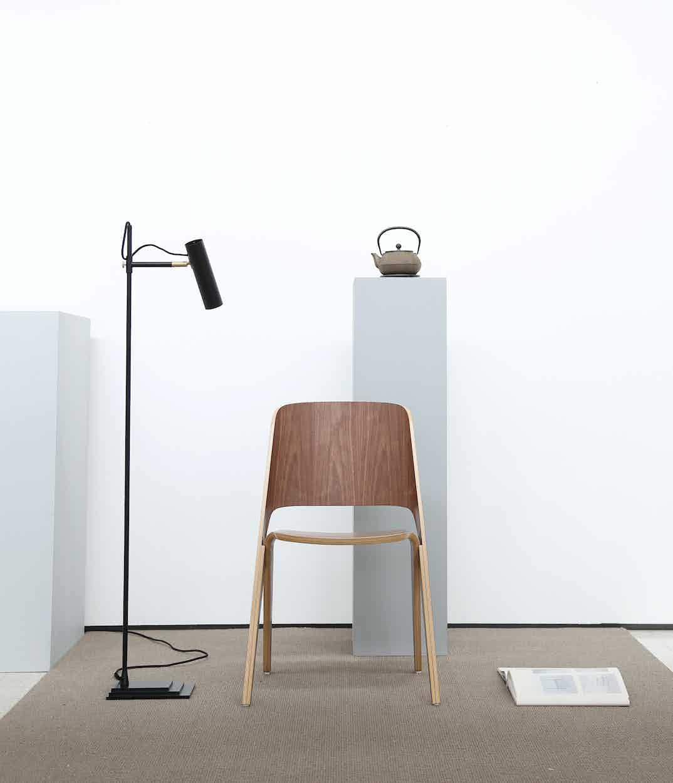 Poiat Lavitta Walnut Chair Insitu Haute Living