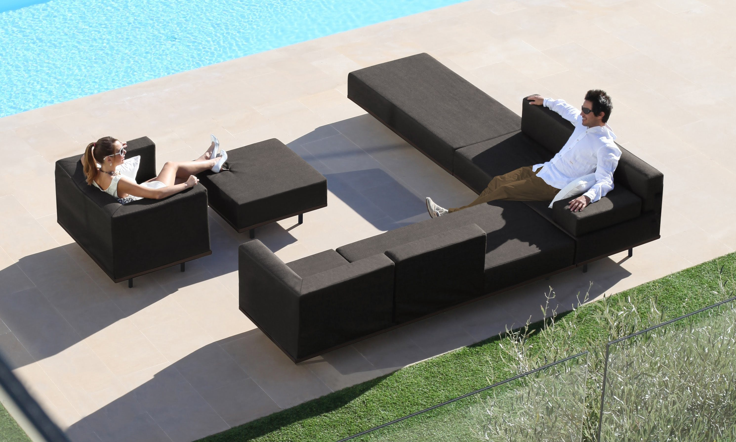 Royal Botania Lazy Lounge Lounge Insitu Haute Living