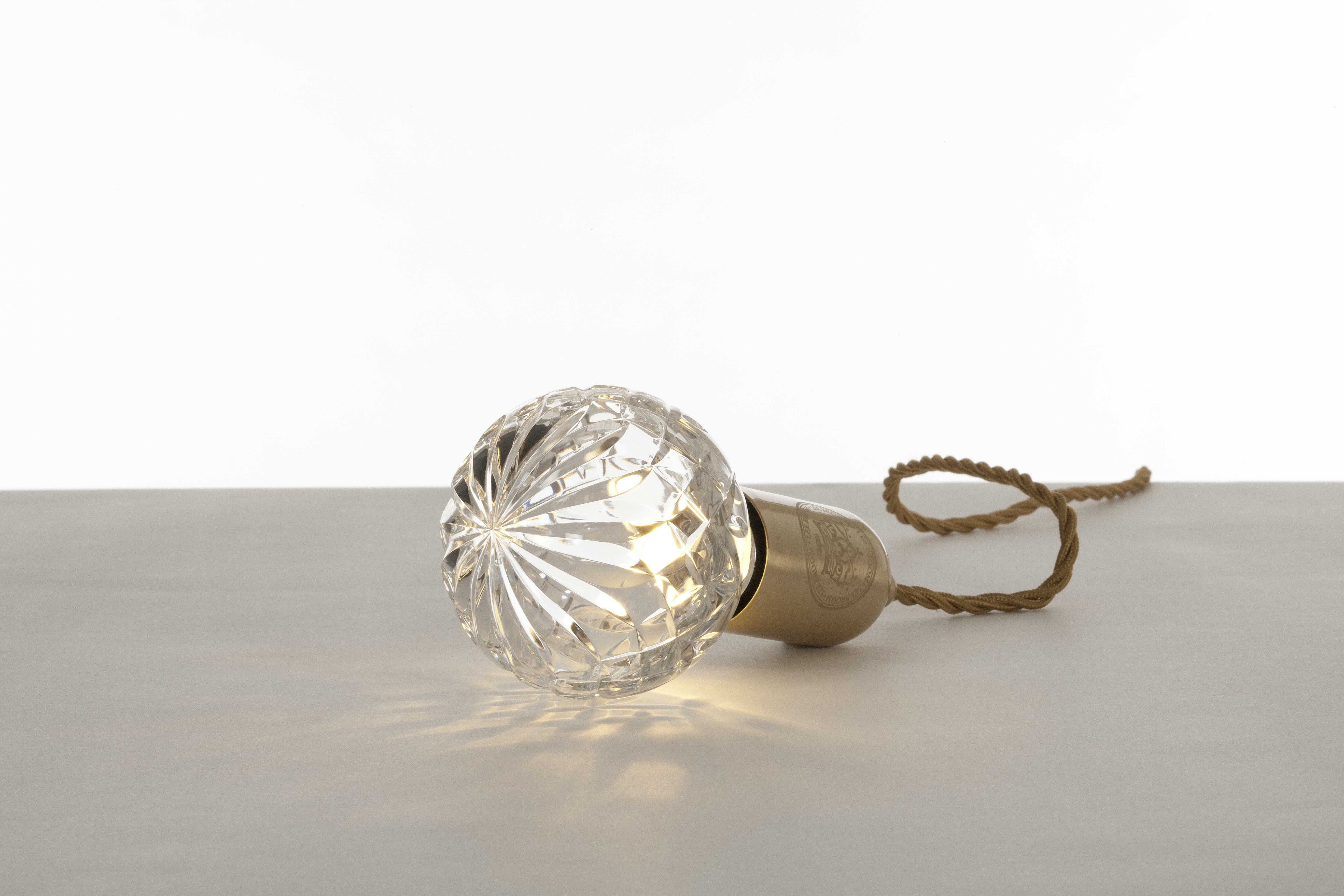 Lee Broom Crystal Bulb And Pendant Clear 2