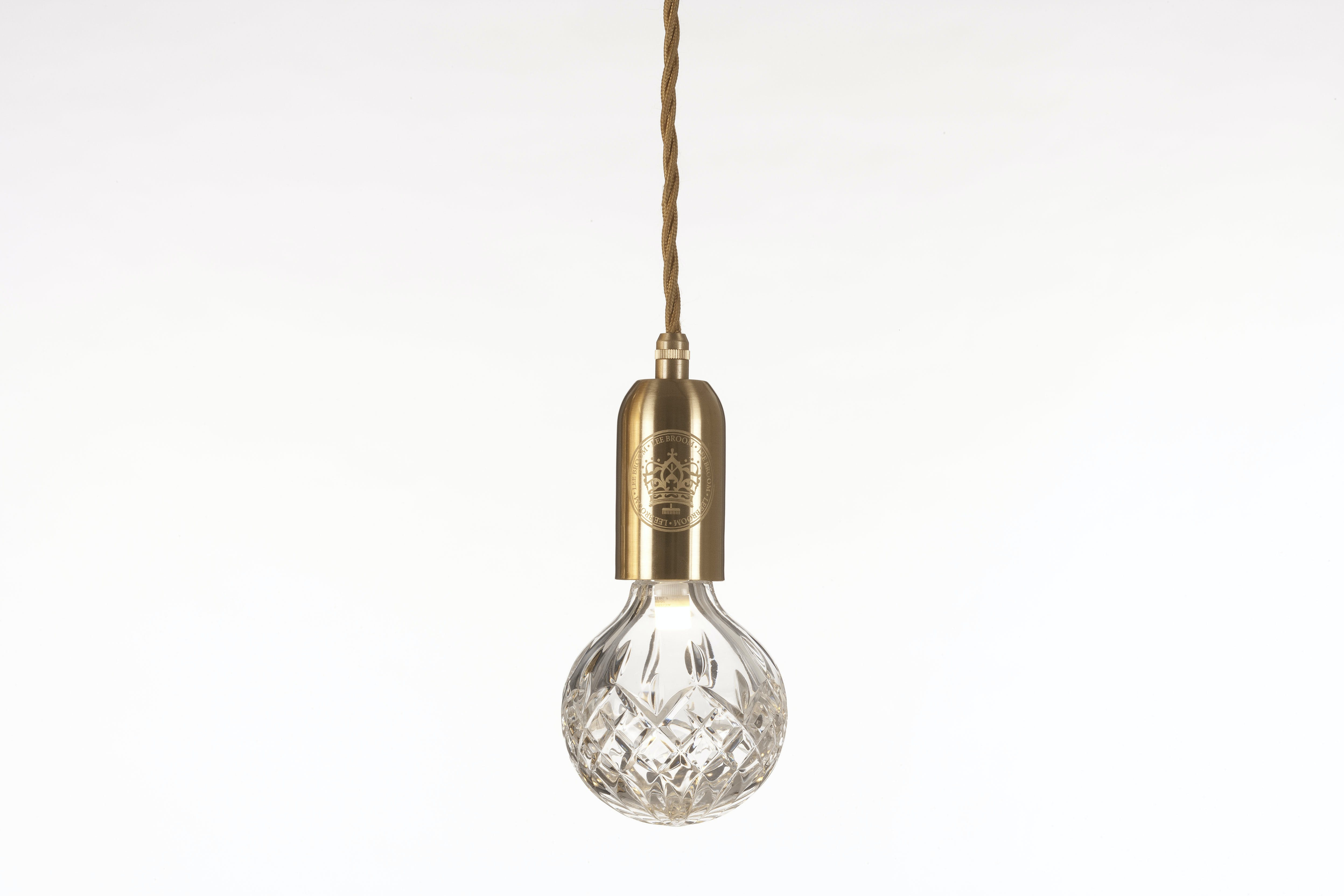Lee Broom Crystal Bulb And Pendant Clear 3