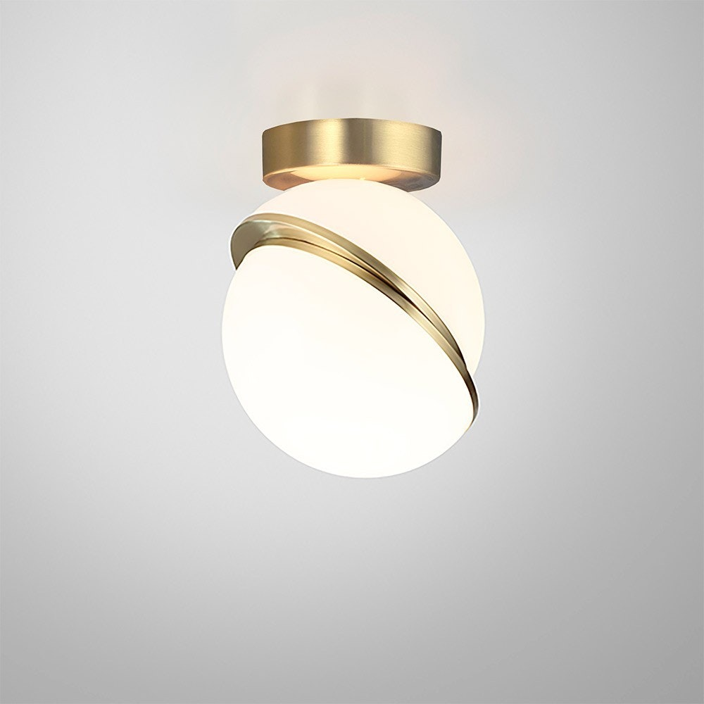 Mini Crescent Ceiling Lamp