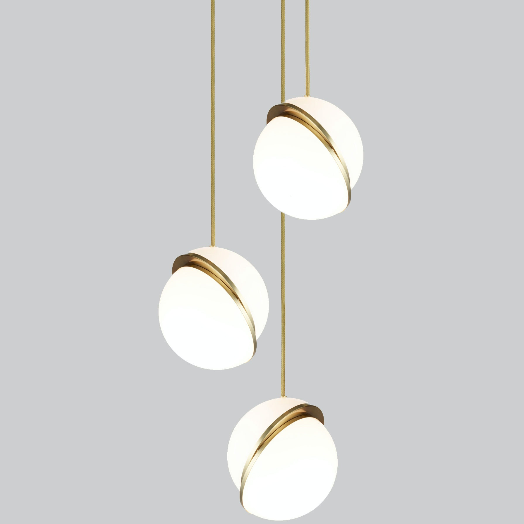 Mini Crescent Chandelier