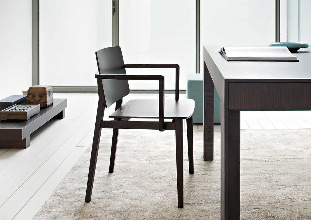 Lema furniture hati chair insitu side haute living