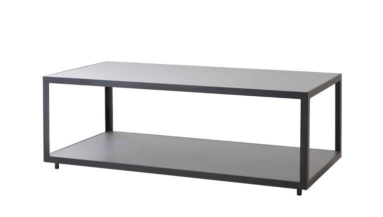 Level Coffee Table Rectangular Light Grey Lava Grey 1