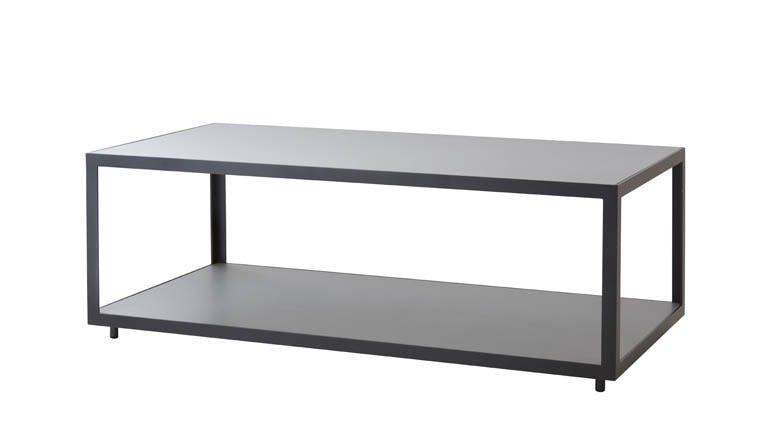 Level Coffee Table Rectangular Light Grey Lava Grey 1