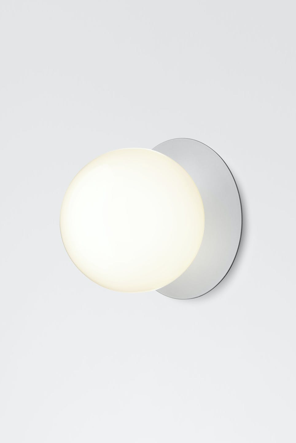 Nuura Opal Liila Silver Wall Light Haute Living