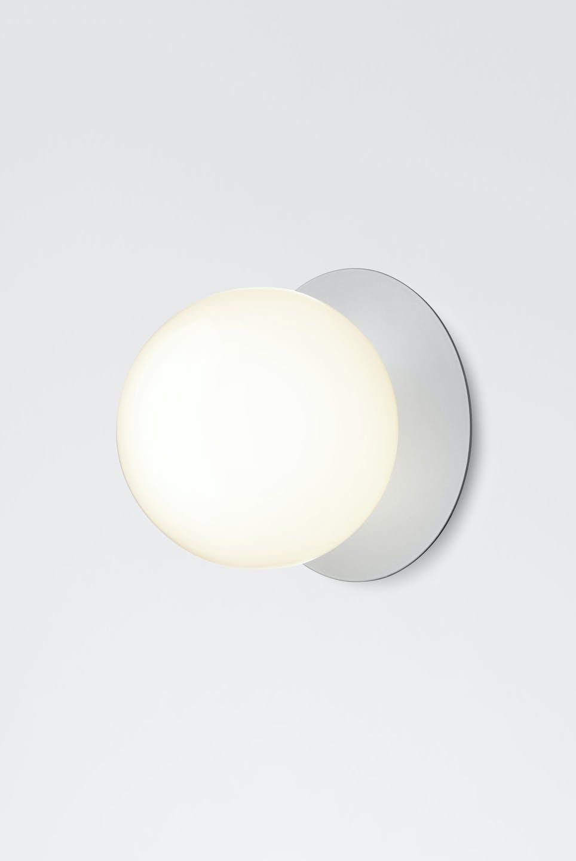 Nuura Opal Liila Silver Wall Light Haute Living