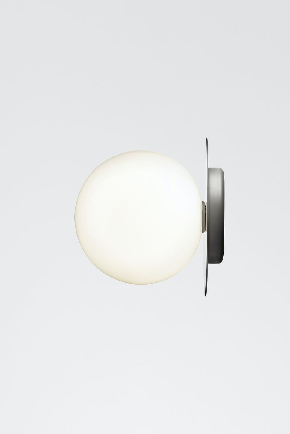 Nuura Opal Liila Silver Wall Light Side Haute Living