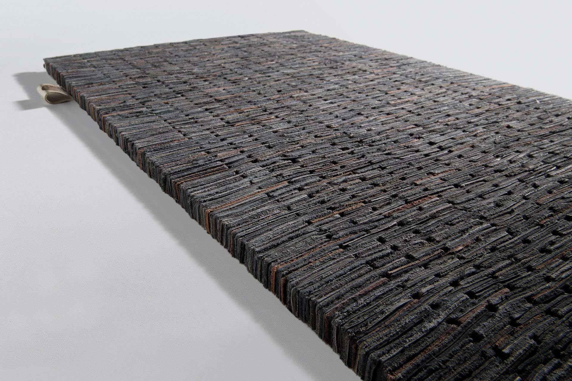 Brick Br351 Black Limited Edition Rugs