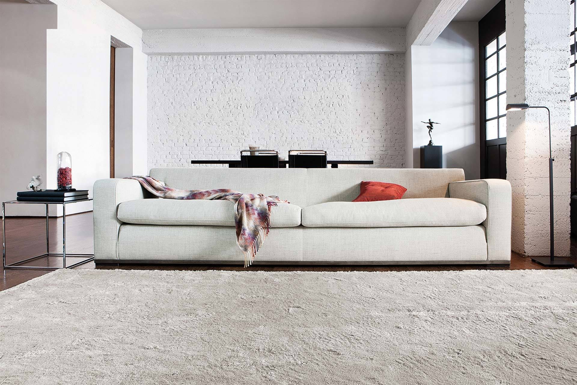 Limited Edition Rugs Linen Luxury Rug Grey Insitu Haute Living