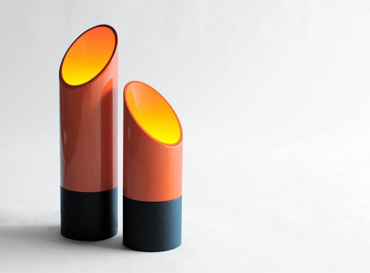 Phase Design Reza Feiz Lipstick Table Lights 1