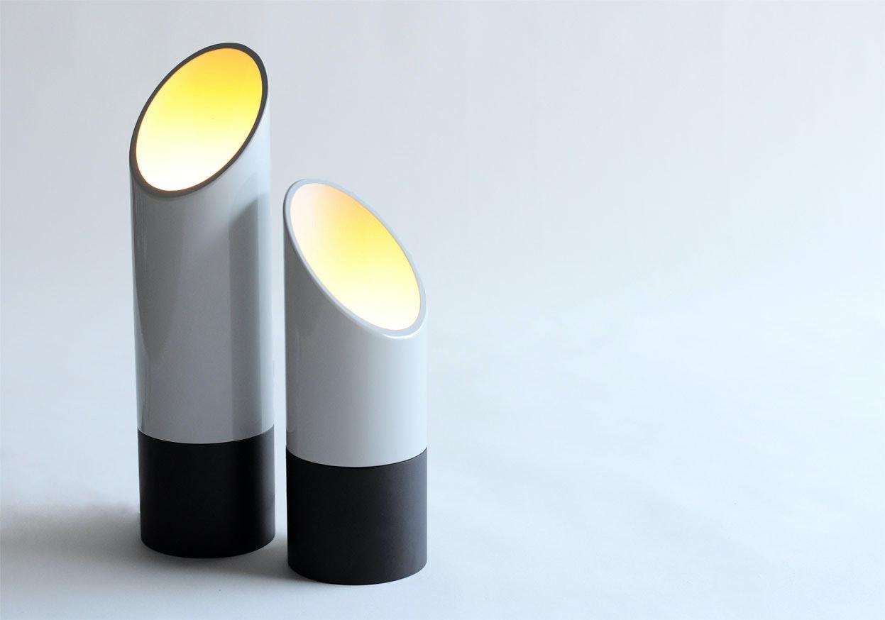Phase Design Reza Feiz Lipstick Table Lights 2