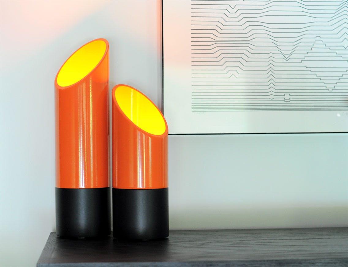 Phase Design Reza Feiz Lipstick Table Lights 3