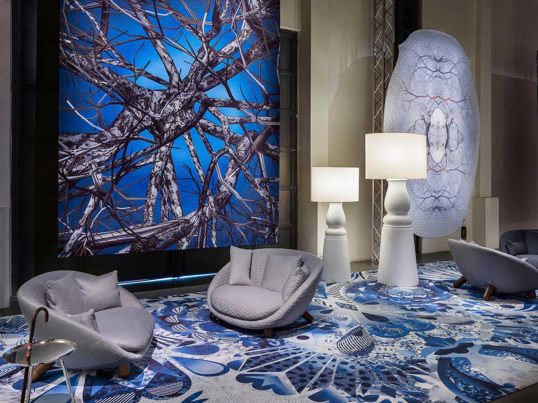 Moooi Carpets Liquid Birch Carpet Insitu Haute Living