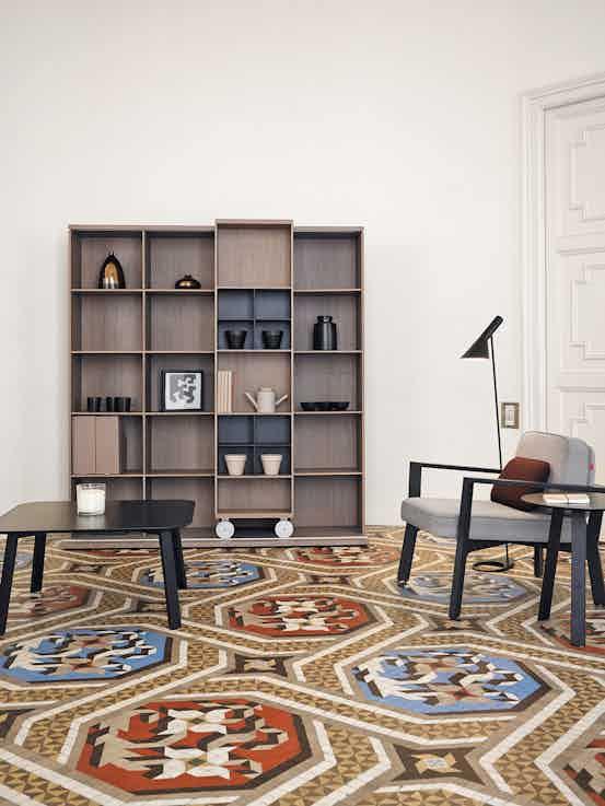 Punt Furniture Lite Light Insitu Brown Front Haute Living