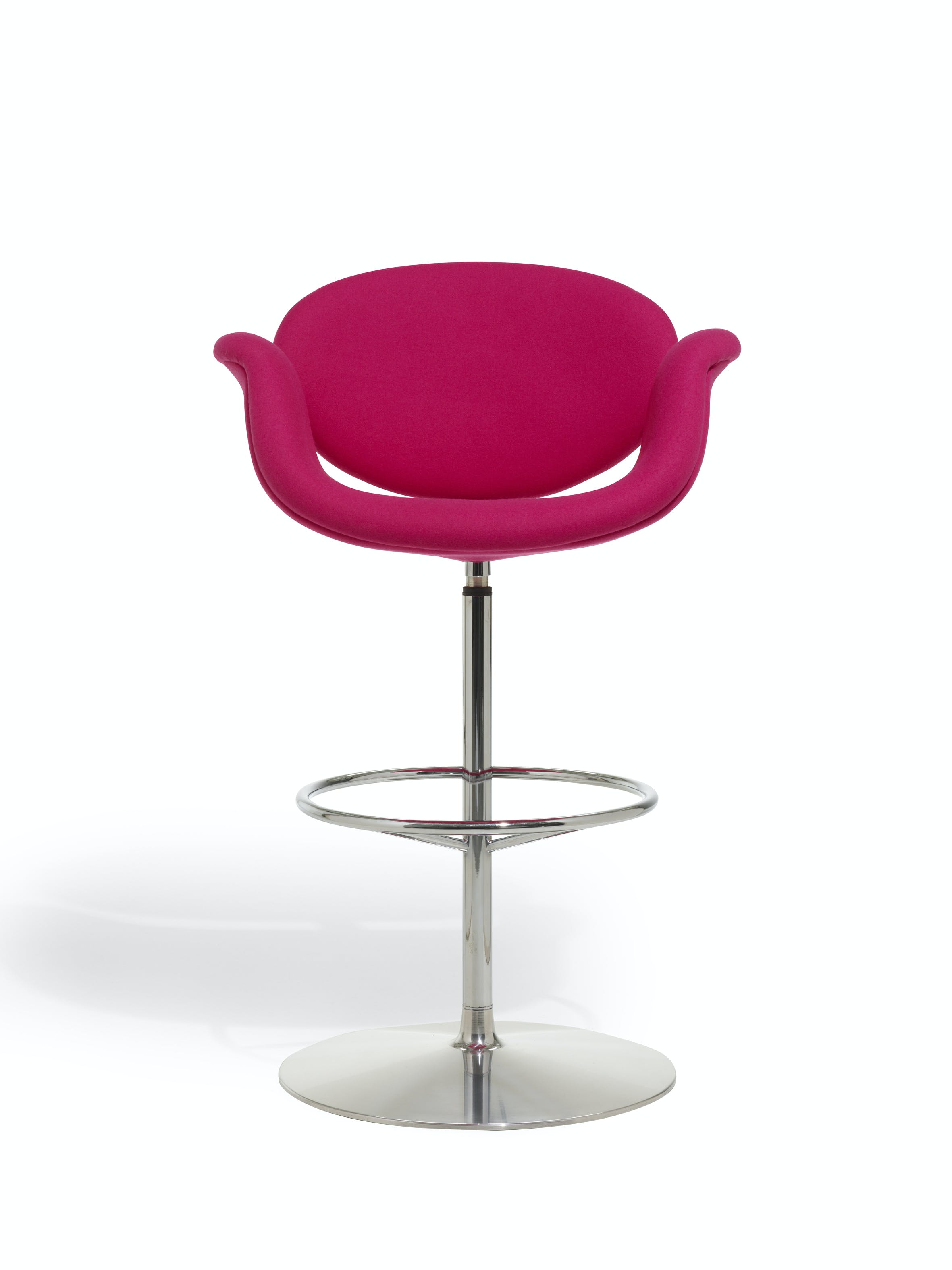 Artifort Pink Little Tulip Stool