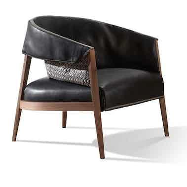 Frigerio Liza Armchair Side2 Haute Living