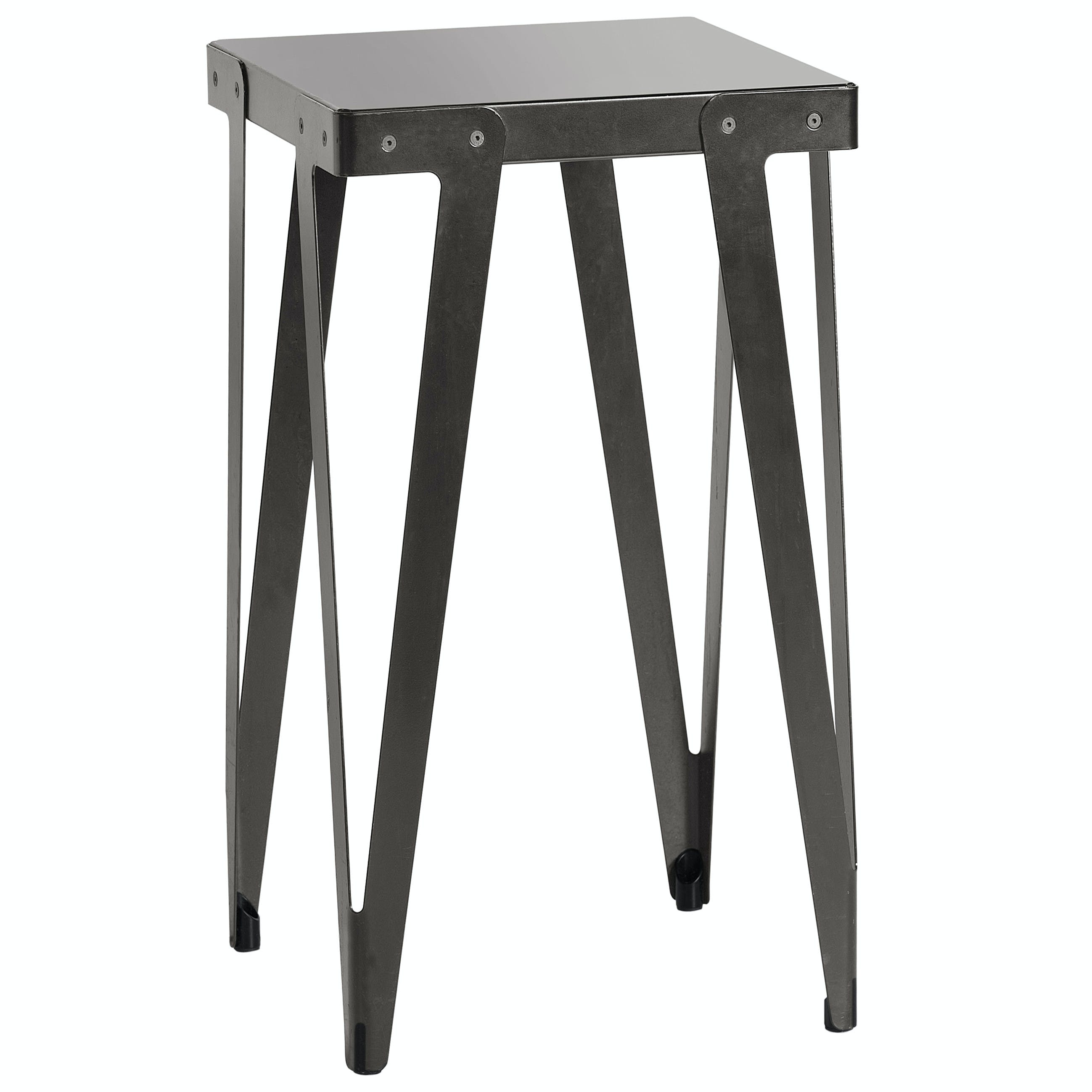 Functionals Lloyd Black High Table Square Haute Living