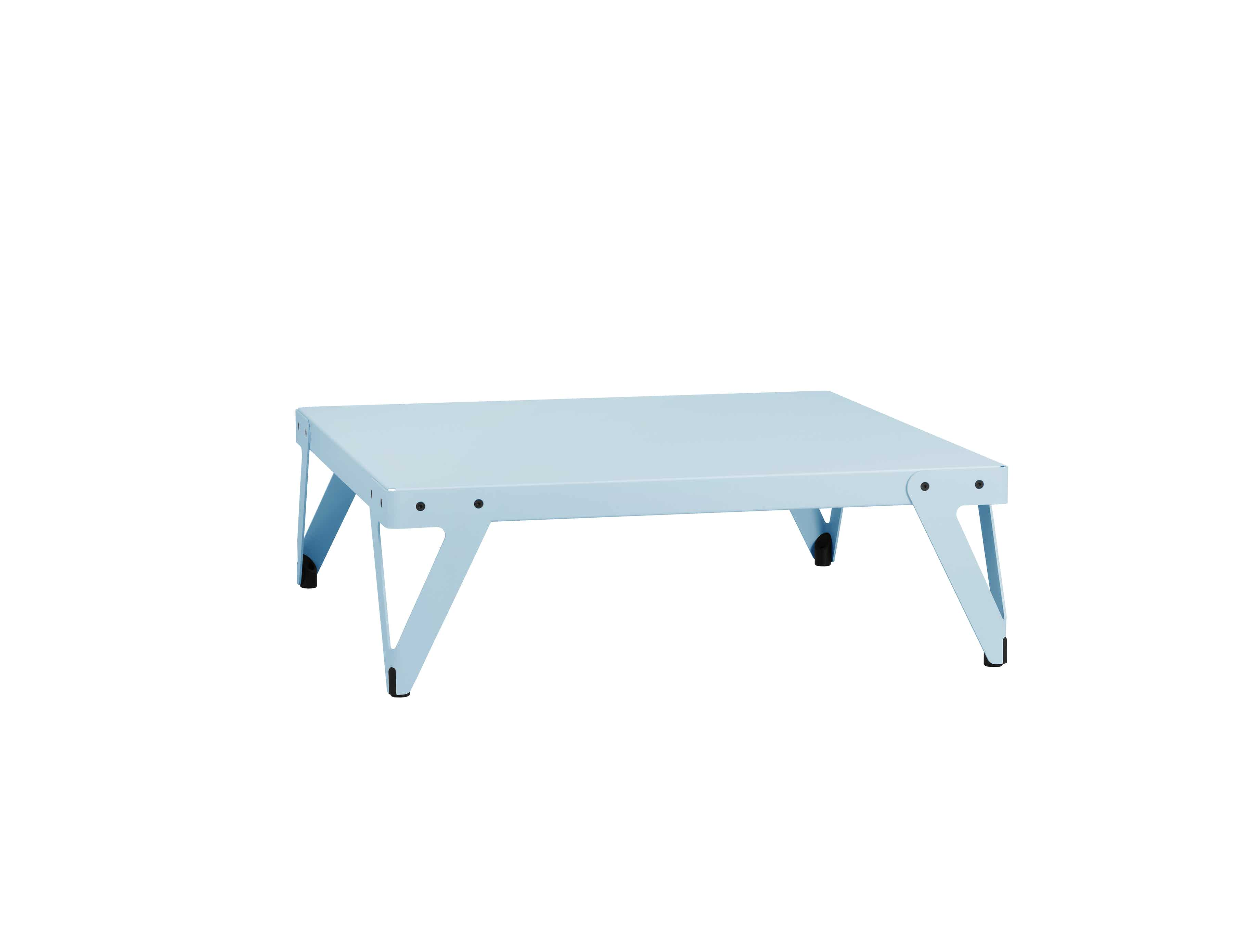 Functionals Square Low Light Blue Lloyd Table Haute Living