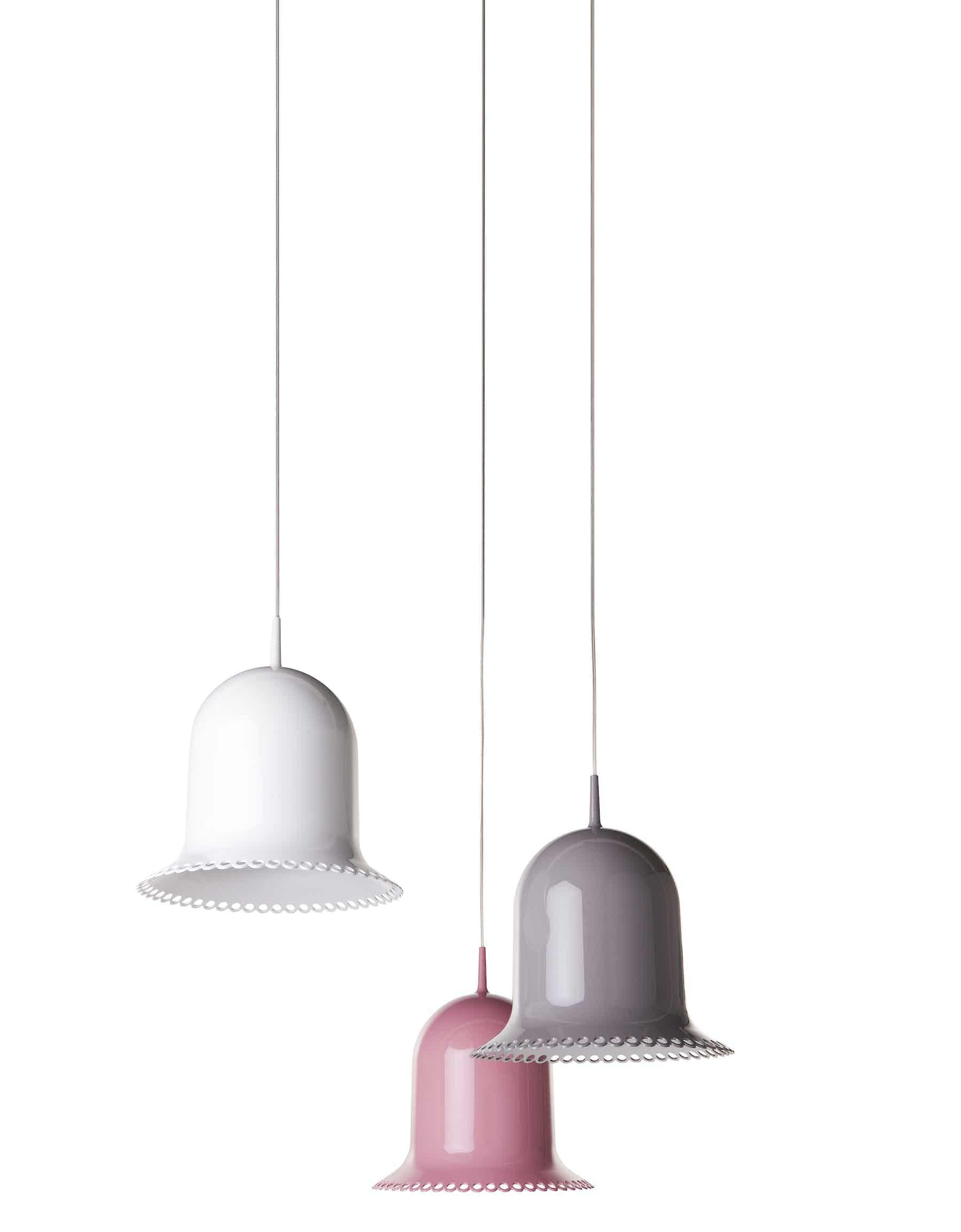 Moooi lolita suspended lamp trio haute living
