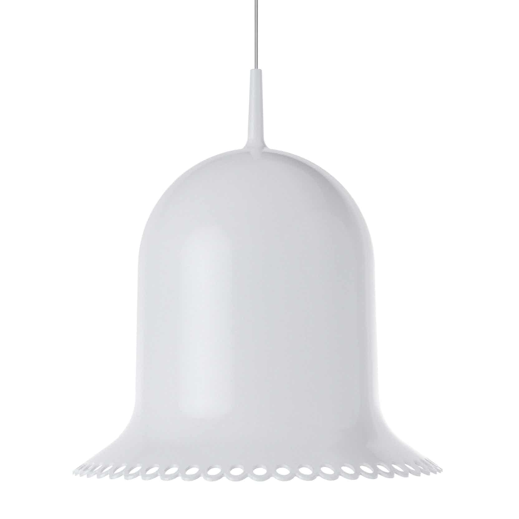 Moooi white lolita suspended lamp haute living