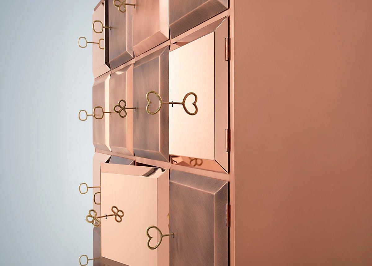 De Castelli Longing Cabinet Detail Haute Living