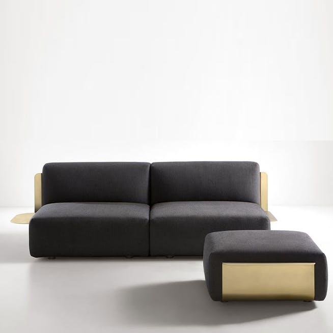 De Castelli Loom Sofa Side Front Haute Living Thumbnail