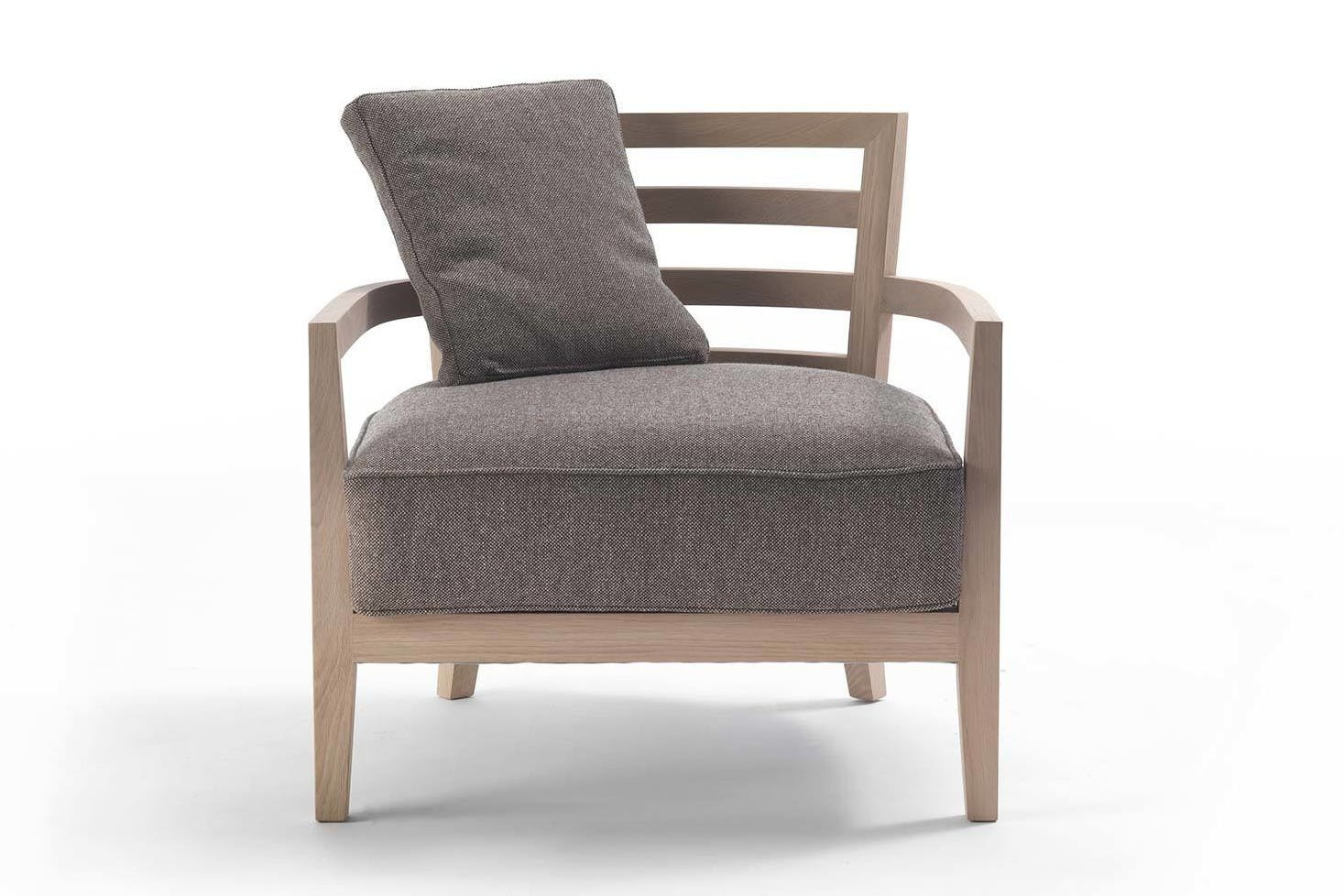 Frigerio Louise Armchair Front Haute Living