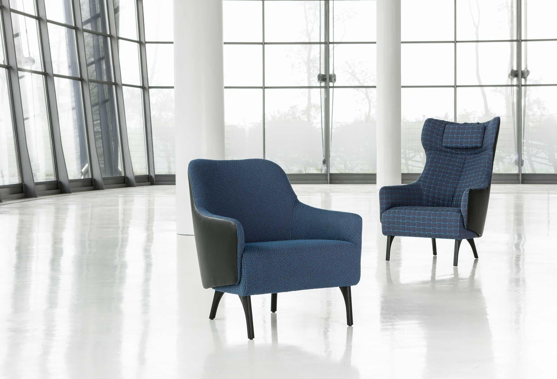 Jab Anstoetz Blue Flow Armchair Duo Insitu Haute Living
