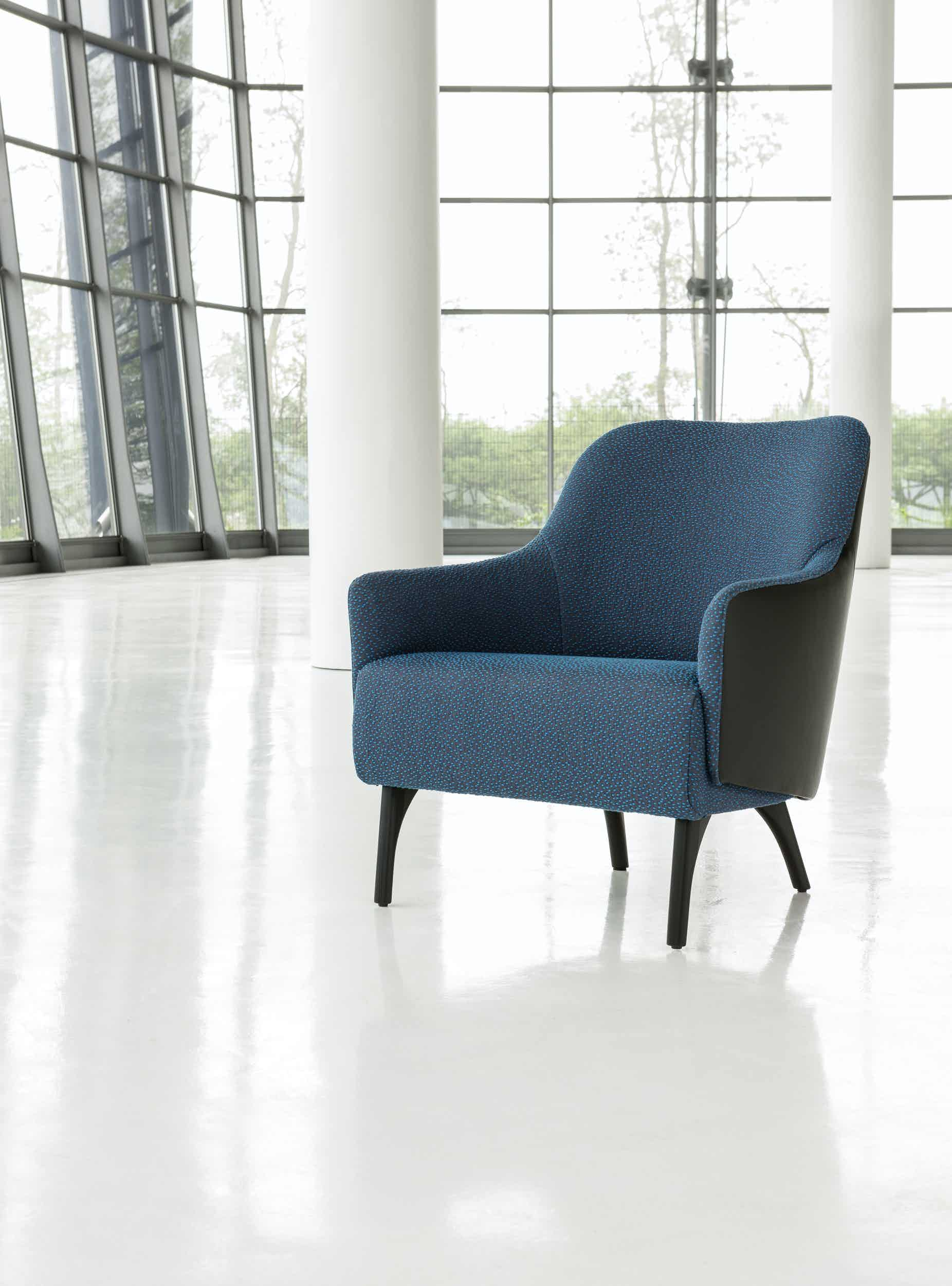 Jab Anstoetz Blue Flow Armchair Haute Living