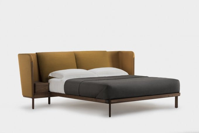 Low Dubois Bed By Nichetto In Walnutrev Web 680X455
