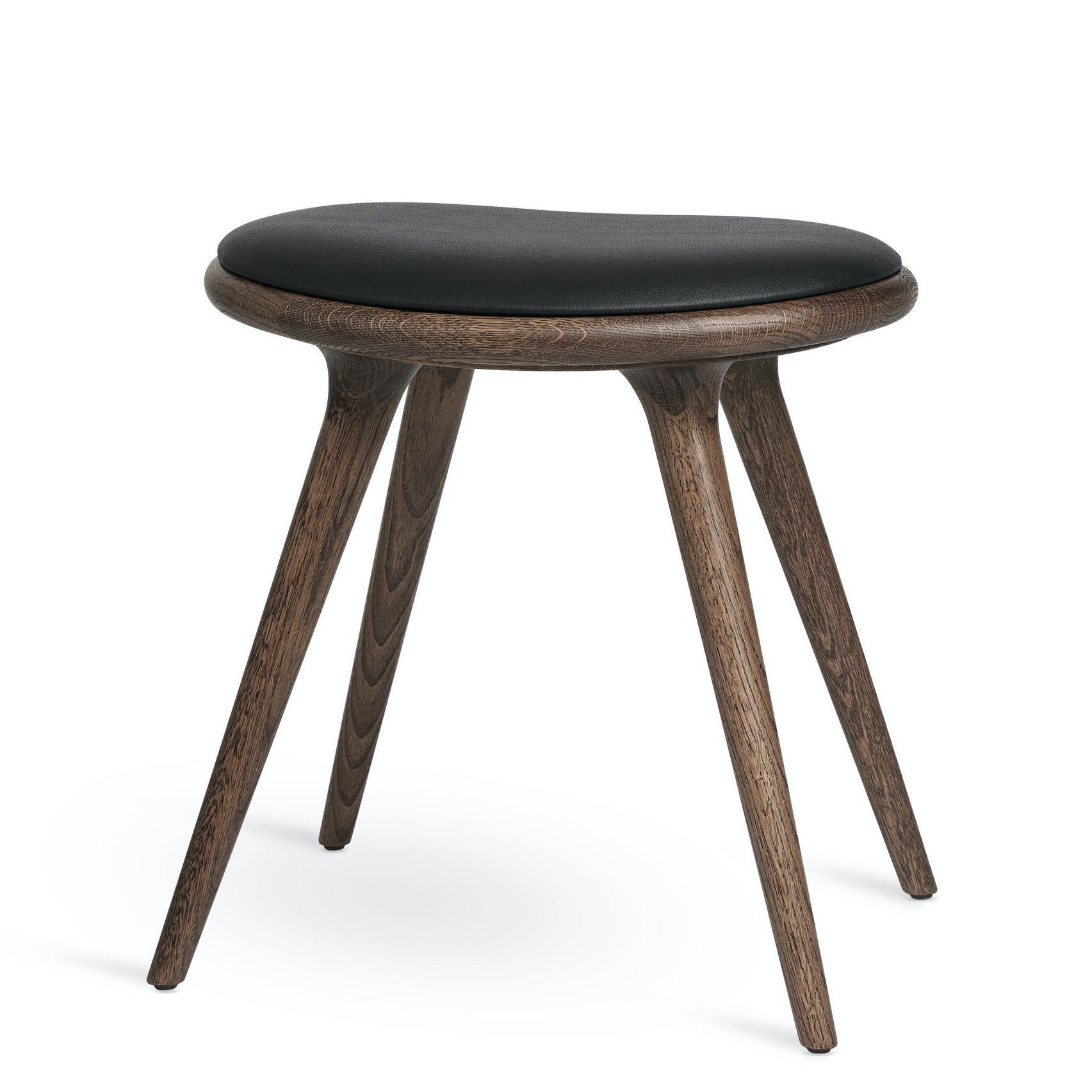 Mater Dark Stained Oak Low Stool Haute Living 181017 203127