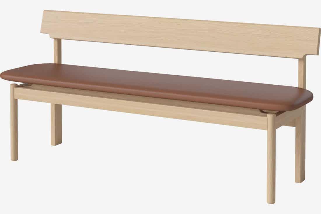Bolia loyal bench angle haute living