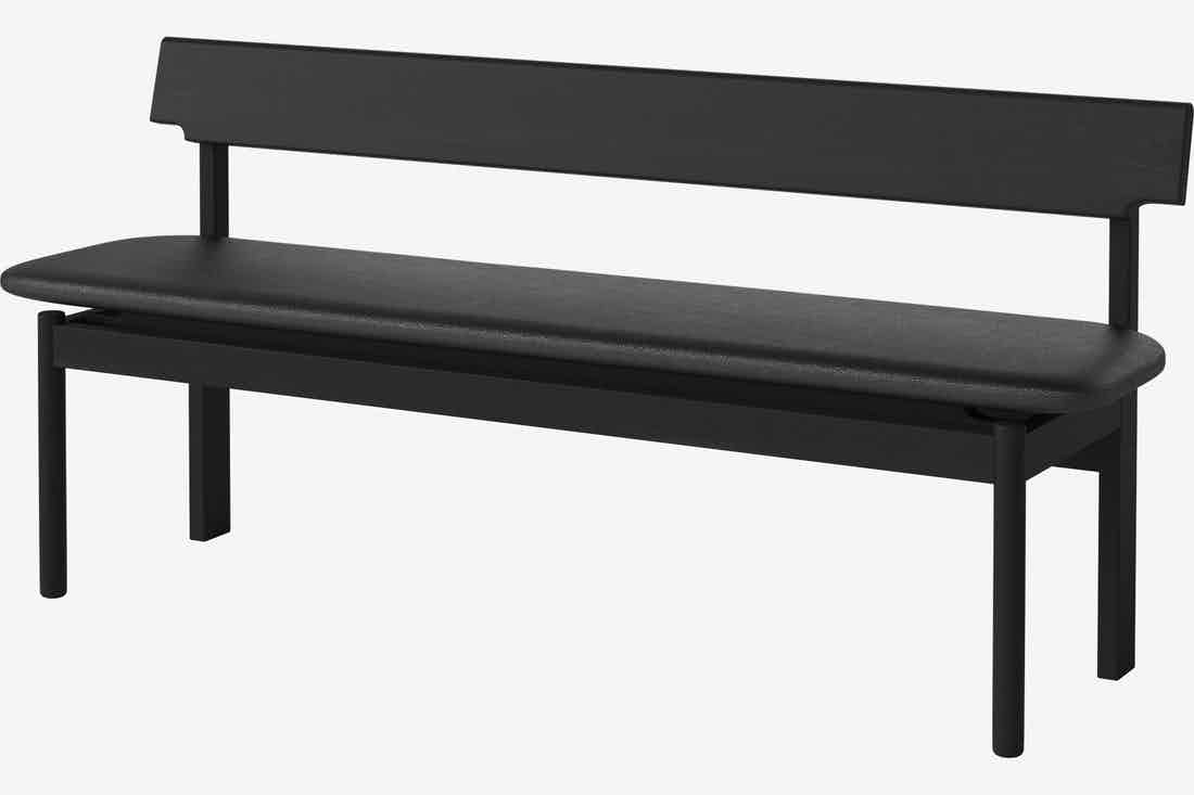 Bolia loyal bench black haute living