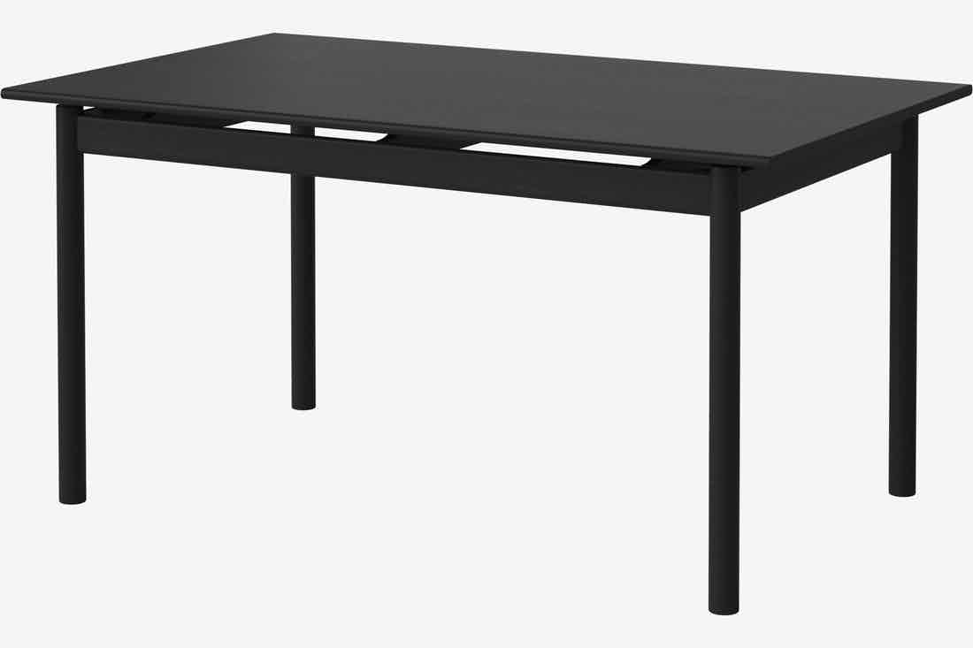 Bolia loyal dining table black haute living