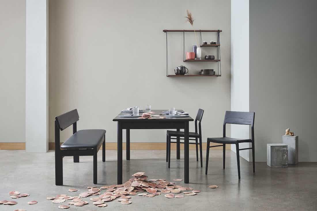 Bolia loyal dining table insitu haute living
