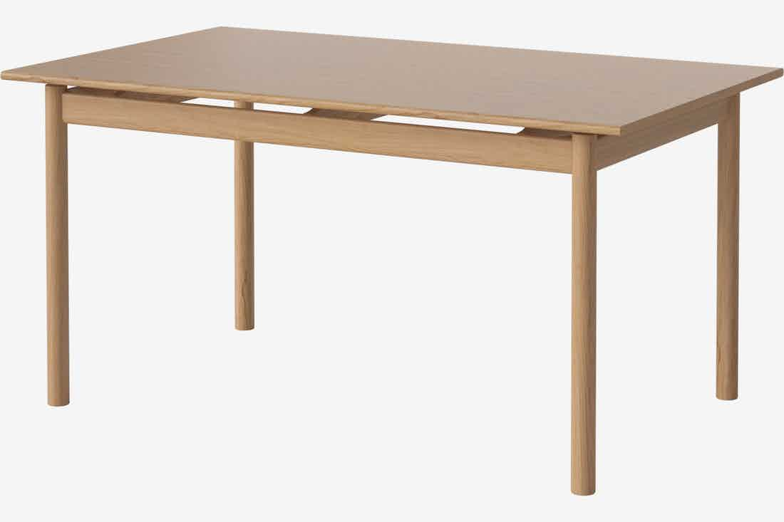 Bolia loyal dining table natural haute living