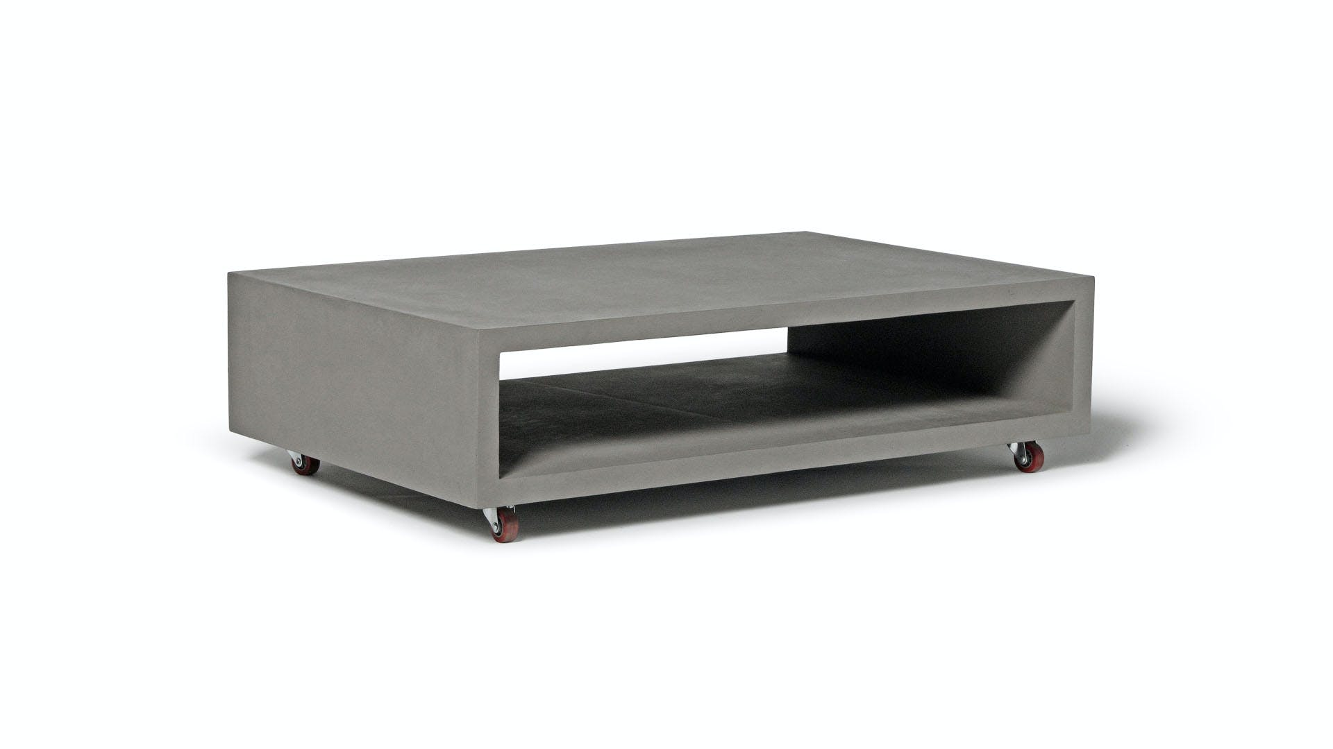 D 09139 Or Dl 09139 Monobloc Rectangular Coffee Table With Wheels 00001