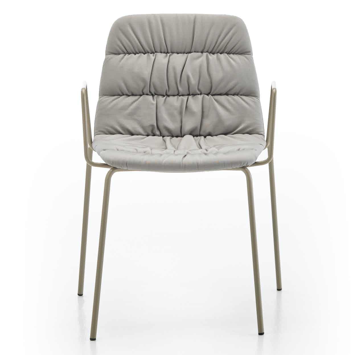 Viccarbe-maarten-chair-grey-metal-frame-haute-living