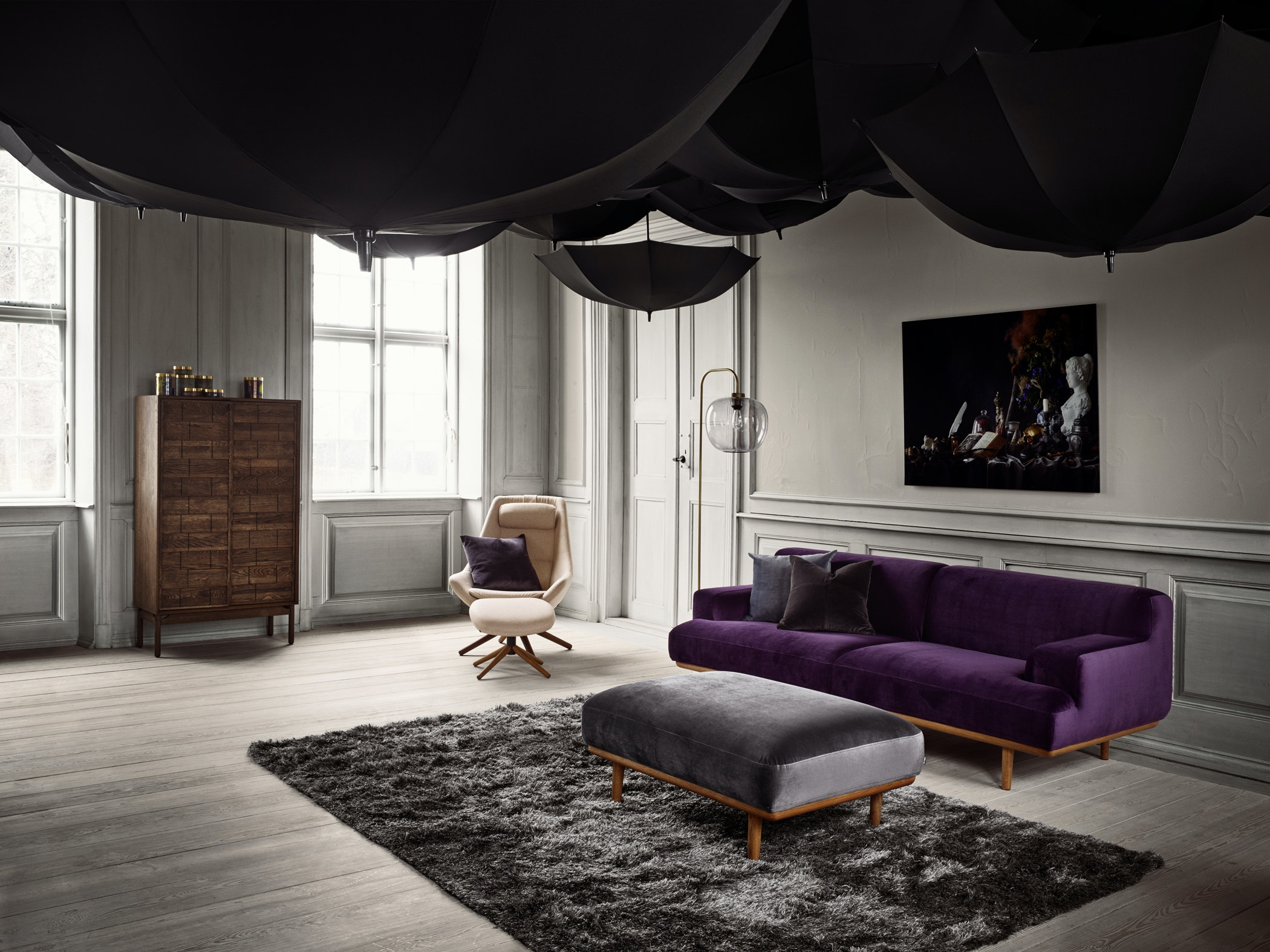 Madison Clinkers Coco Grape Meta Bossa 1800 Sofa2