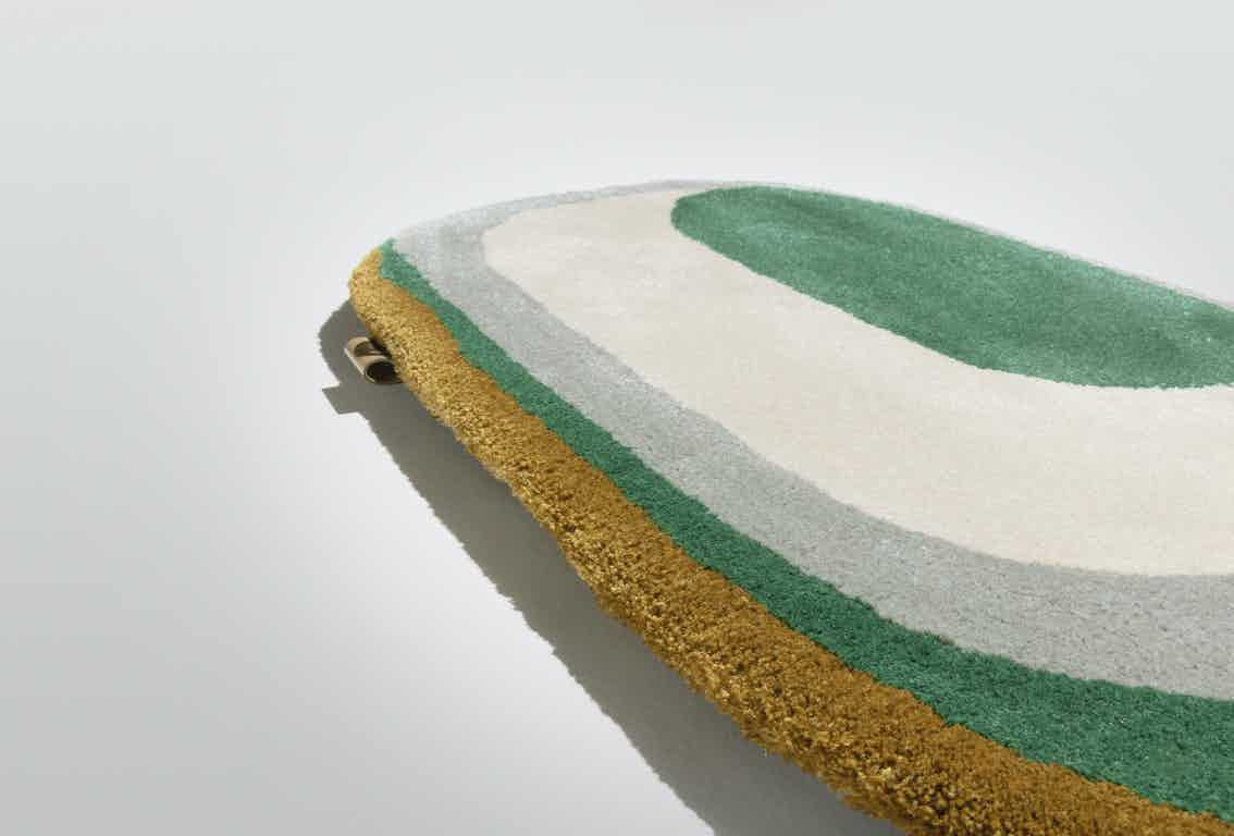 Limited Edition Rugs Maestro Tempo Rug Emerald Haute Living