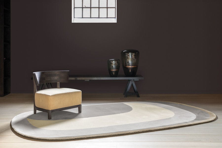 Limited Edition Rugs Maestro Tempo Rug Ginger Insitu Haute Living