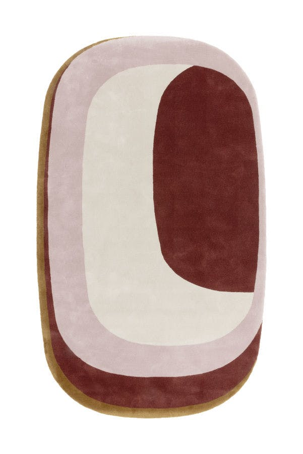Limited Edition Rugs Maestro Tempo Rug Russet Top Haute Living