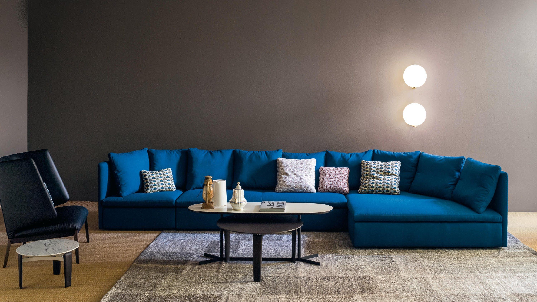 Arflex Blue Modular Mangold Sofa Insitu Haute Living