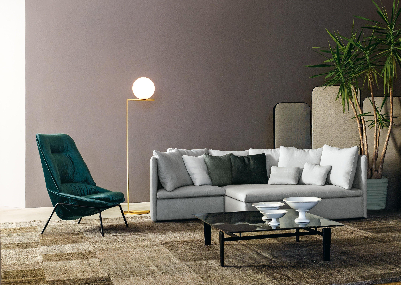 Arflex Grey Mangold Sofa Insitu Haute Living