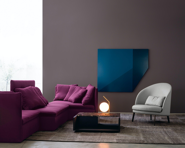 Arflex Mangold Modular Sofa Fuschia Insitu Haute Living