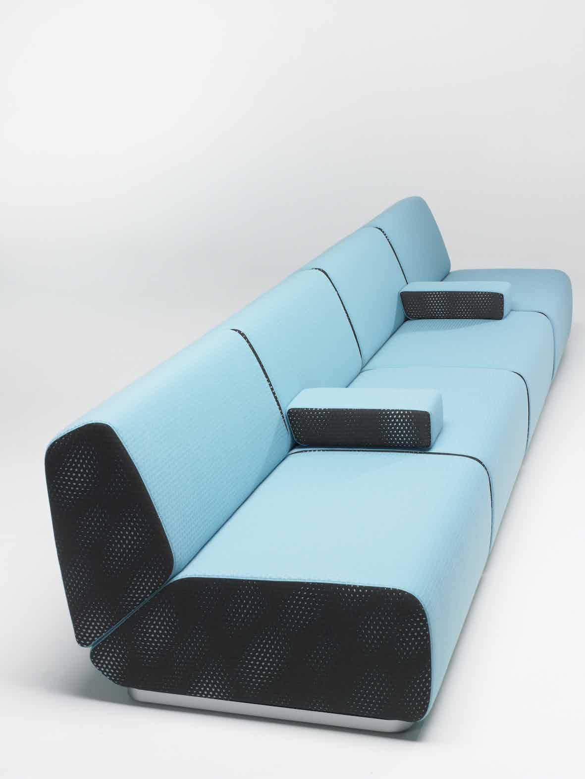 Artifort Blue Manhattan Sofa