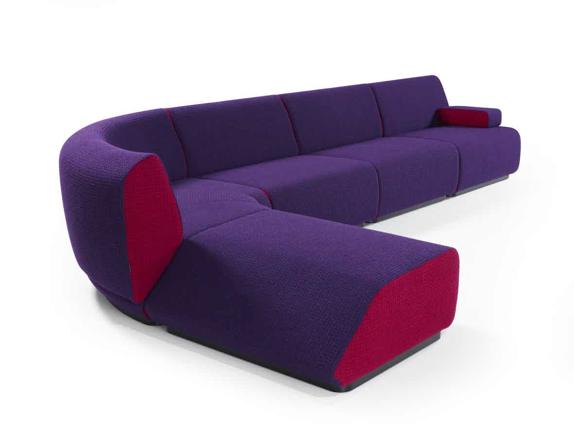 Artifort Purple Manhattan Sofa