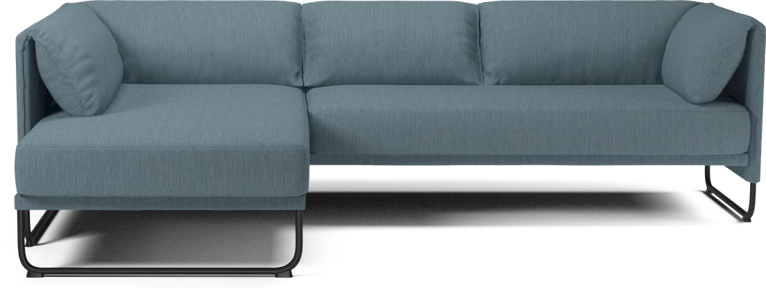 bolia blue mara sectional sofa haute living