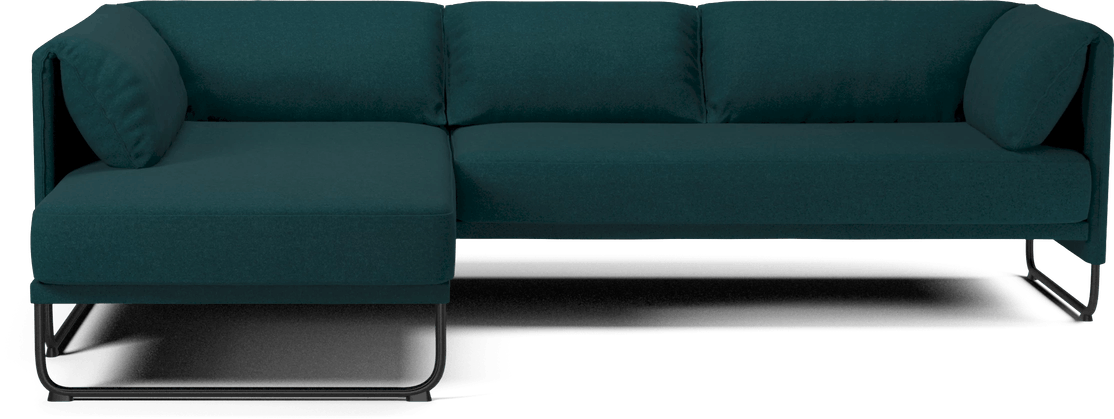 bolia dark green mara sofa haute living